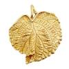 Bronze Pendant Ivy Leaf 39x36mm